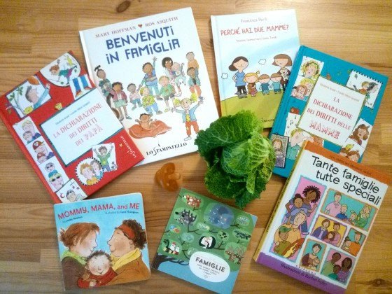 Libri per bambini sulle famiglie - Genitori lgbt