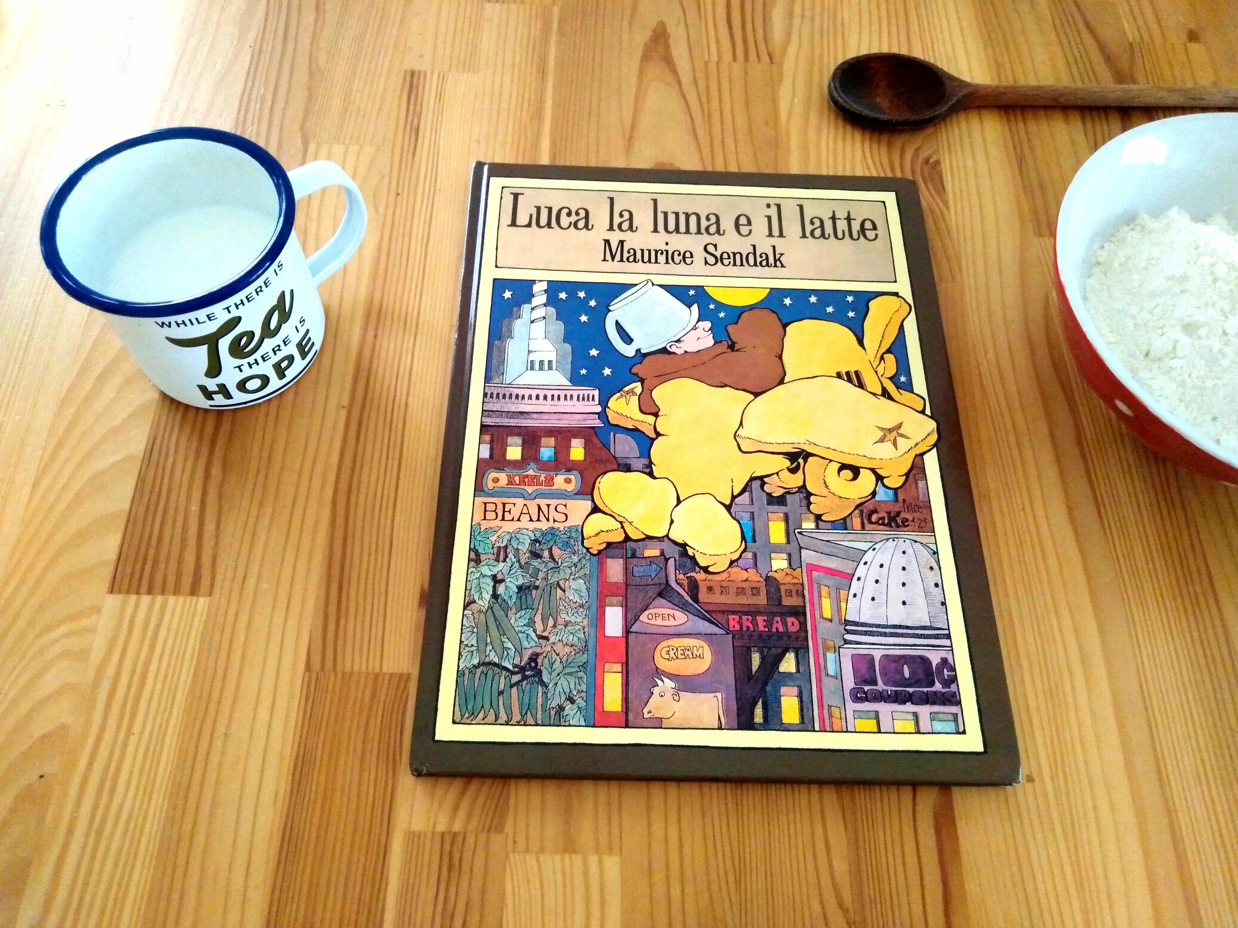 Luca la luna e il latte - In the night kitchen - Maurice Sendak